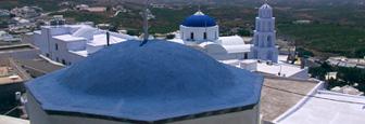 Santorini-BlauweKoepel