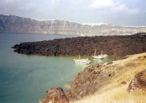 Santorini hot springs (warme bronnen)