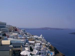 Fira op het eiland Santorini