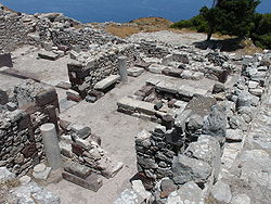 Ancient Thira: het antieke Thira op Santorini