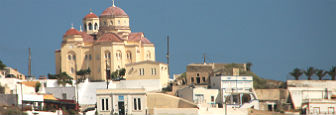 Exa Gonia kerk Santorini