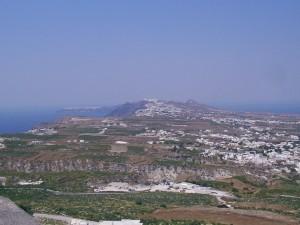 Monolithos op Santorini