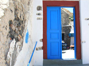 Vothonas grotwoningen op Santorini